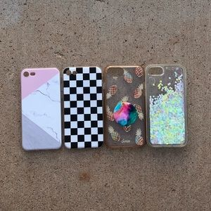 Accessories - 4 iPhone 7/8 cases